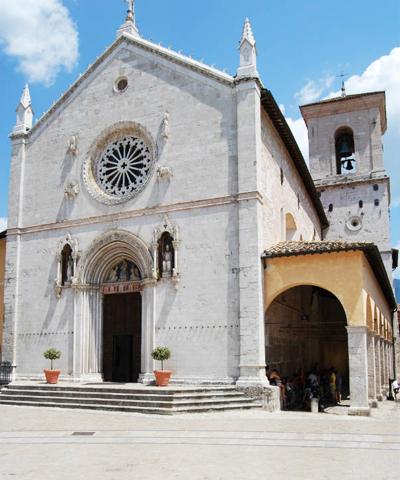 Chiesa di san benedetto norcia greenway del nera - Vi metto a tavola san benedetto ...